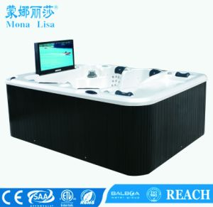 Monalisa Luxury Style Jacuzzi SPA with Waterproof TV (M-3304) pictures & photos