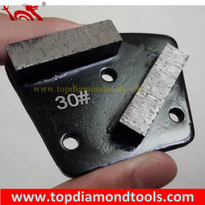 2 Segments Concrete Trapezoid Grinding Block pictures & photos