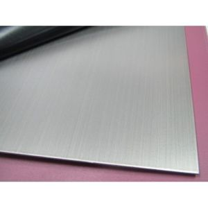 304 Hairline Stainless Steel Sheet for Elevator Doors, Cabs & Ceiling Panels pictures & photos