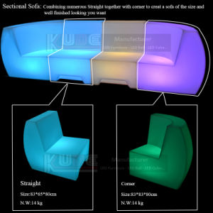 Remote Control LED Chair LED Glowing Chair LED Chair Table pictures & photos