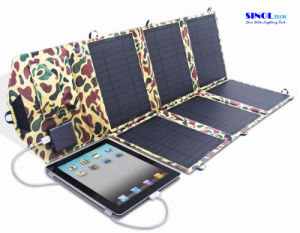 40W 2-Port DC USB Solar Charger with Folding Solar Panel 40 Watt for Outdoor Laptop Charging (FSC-40B) pictures & photos