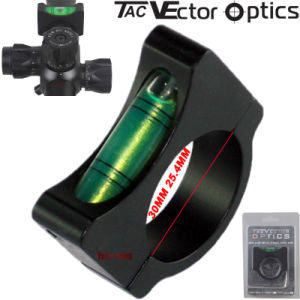 "Vector Optics New 30mm 25.4 1"" Inch Anti Cant Cantilever Circular Aluminum Small Round Spirit Mini Bubble Level for Rifle Scope pictures & photos"