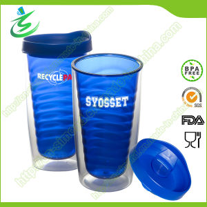 16 Oz Plastic Tumbler with Straw, as Cup (TB-A3) pictures & photos