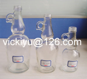 250ml, 500m, 750ml European Oil Glass Bottles with Ear pictures & photos