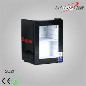 Countertop Mobile Display Freezer for Gelato pictures & photos