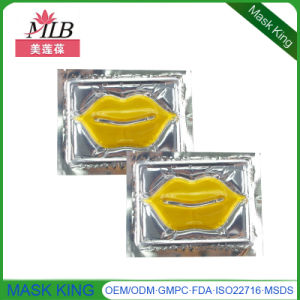 Natural Skin Care Cosmetics Replenishment of Moisture Gold Lip Mask for Beauty Products pictures & photos