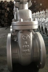 API Carbon Steel Flanged Gate Valve 150lb Z41h-150lb pictures & photos