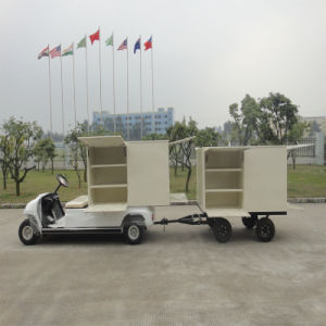 2 Passengers Electric Golf Cart for Hotels pictures & photos