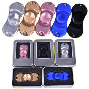 Fidge Hand Spinners Golden Aluminum Alloy 5colors Torqbar Ceramic Bearing Axis EDC Finger Tip Rotation Anxiety Toy.