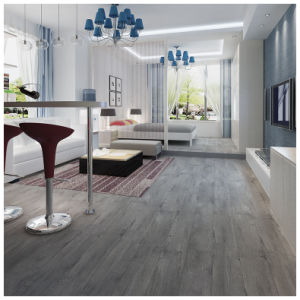 High Quality Laminate Flooring high quality soomth surface double strips water resistant laminate flooring 8mm 12mm Eir Light White Oak High Quality Drop Lock Laminate Flooring