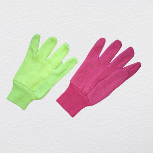Mini Dotted Cotton Jersey Gloves (2202) pictures & photos
