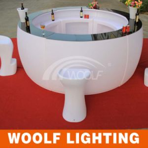 Waterproof Modern Colorful Lounge LED Bar Tables pictures & photos