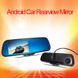 Android Car Rearview Mirror Monitor DVR System pictures & photos