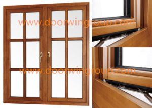 Aluminum Alloy Window German Origin Made Brand Hardware & Accessories, Aluminium Solid Wood Windows for Africa Villas pictures & photos