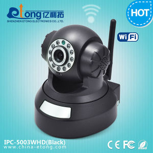 H. 264 Plug&Play Pan Tilt Robot 720p WiFi IP Camera with Micro SD Slot