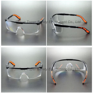 ANSI Z87.1 and CE En166 Wrap-Around Lens Safety Glasses (SG110) pictures & photos