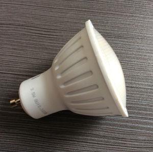 LED Plastic Spotlight 3W GU10 Bulb Lamp Warm White pictures & photos