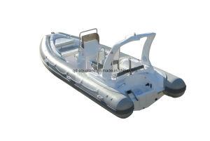 Aqualand 19feet 5.8m Rigid Inflatable Boats/Yacht/Fiberglass Fishing Boats (RIB580CC) pictures & photos