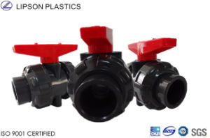DIN JIS ANSI Standard Quality UPVC Valves pictures & photos