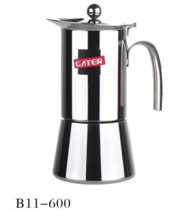 6cup Stainless Steel Moka Pot pictures & photos