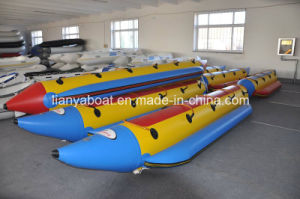 Liya 3.9m to 7m Sport Banana Boat Inflatable Water Banana Boat for Sale