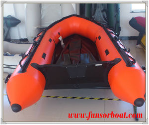 Inflatable Rubber Motor Boat with Airmat Floor (FWS-A290) pictures & photos