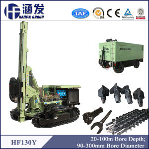 Strong Drill Ability Hydraulic DTH Drilling Rig Hf130y pictures & photos
