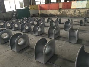 Casting Roller Fairlead Chock for Ship Mooring CB39-66 Type B pictures & photos