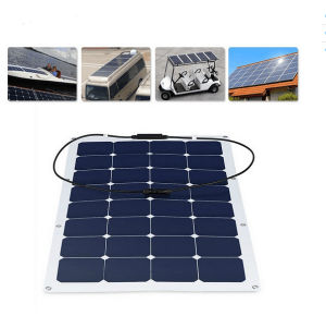 2017 High Efficiency 100W Flexible Solar Panel for RV Marine Home pictures & photos