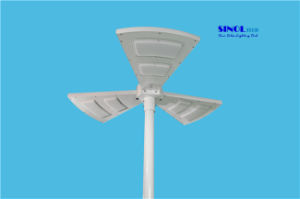 Fan Shape 15W LED All in One Solar Light for Garden (SNSTY-S15) pictures & photos