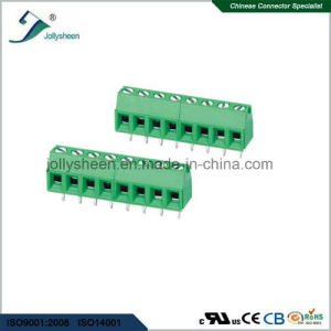 PCB Screw Terminal Blocks Pitch 7.5mm Straight DIP Type pictures & photos