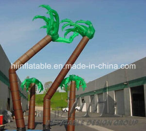 Outdoor Stage Decorative Advertising Inflatable Sky Dancer, Inflatable Palm Tree