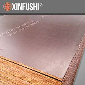 Hardwood Core F17 Film Faced Formwork Plywood with Australia Market pictures & photos