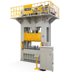 Low Consumption 1500 Ton H Frame Deep Drawing Hydraulic Press Machine with High Speed pictures & photos