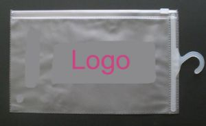 High Quality Printed Gusset PVC Hook Bags for Shirts (FLH-8701) pictures & photos