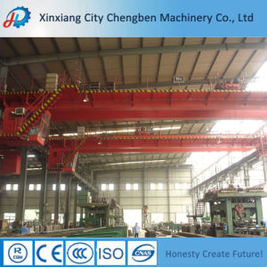 Lifting Equipment Double Girder Electric Overhead Crane with Trolley pictures & photos