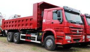 CCC ISO Approved Front Dumping Truck pictures & photos