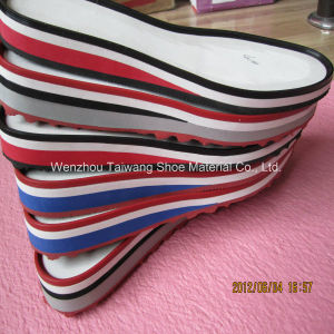 EVA Rubber Material Combination Soles for Making Shoes pictures & photos