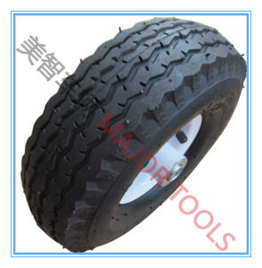 Pneumatic Inflatable Rubber Wheel 4.10/3.50-4/Wheel Barrow Tyre pictures & photos