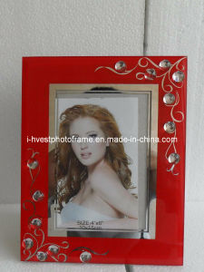 Pretty Lace Decoration Wooden Photo Frame (GP14012)
