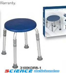 Economic Stool Style Aluminum Shower Chair for Old People pictures & photos