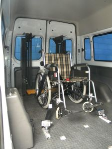 Passenger Wheelchair Locker Wheelchair Restraint System pictures & photos