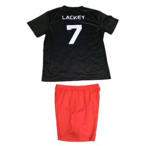 Soccer Uniform with Socks Football Kit with Custom Size pictures & photos