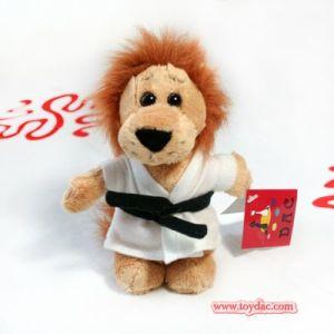 Plush Mini Lion Toy Key Ring pictures & photos
