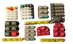 Silicone Rubber Numerical Keypad for Test Equitment pictures & photos