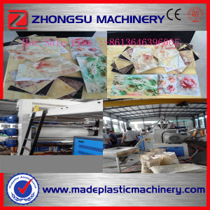 2016 Hot Welcomed Plastic Marble Sheet Production Line pictures & photos