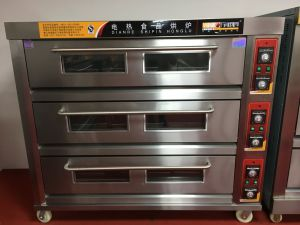 3 Decks 9 Trays Bakery Deck Oven for Industrial Using (WDL-3B) pictures & photos