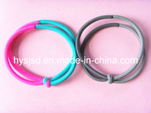 Colored Elastic Hair Tie, Hot Sale Elastic Hair Band, Elastic Accessory pictures & photos