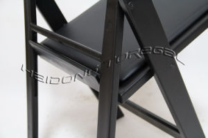 Black Color Resin Plastic Folding Chair Chinese Manufacturer pictures & photos