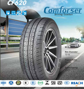 Car Polyester Rubber Tires with High Quality (205/55R16) pictures & photos